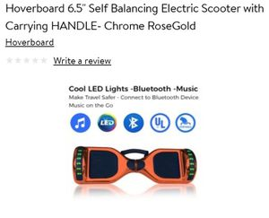 Self balancing hoverboard for Sale in CORP CHRISTI, TX