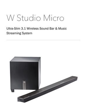 Definitive Technology- W Studio Micro for Sale in Philadelphia, PA