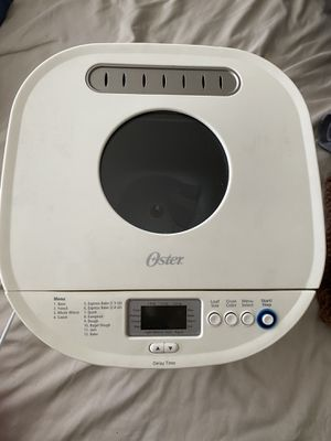 Oster bread maker for Sale in East Meadow, NY
