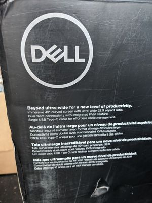 Dell 49inch curved monitor for Sale in Newport Beach, CA