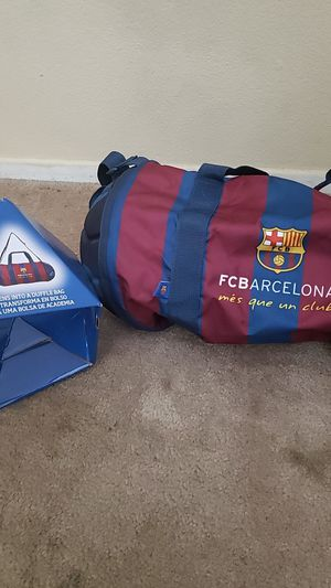 FCBARCELONA DUFFLE SOCCER BAG for Sale in Moreno Valley, CA