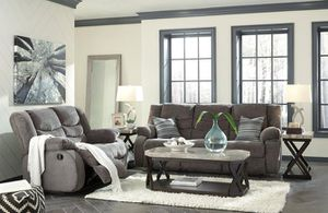 ✨ New Ashley ✨ [SPECIAL] Tulen Gray Reclining Living Room Set for Sale in Jessup, MD