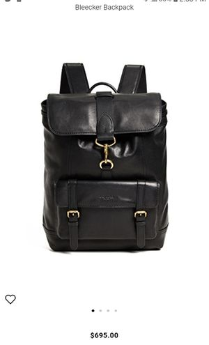 MEN'S COACH BACKPACK for Sale in Los Angeles, CA