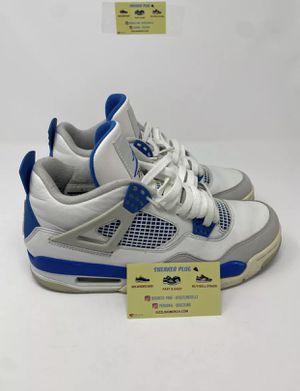 Air Jordan 4 IV 308497-105 White/Military Blue-Neutral Grey Size 8.5 for Sale in Dover, FL