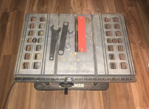 """Craftsman Table Saw 10"""" for Sale in Franklin, MA"""