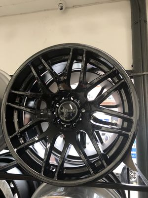 "19"" staggered bmw m3 csl style wheels rims tires 5x120 Gloss Black e46 e90 e92 e93 m3 m4 m5 f80 f82 f10 e60 3 4 5 series 340i 440i f30 f32 gran coupe for Sale in Queens, NY"