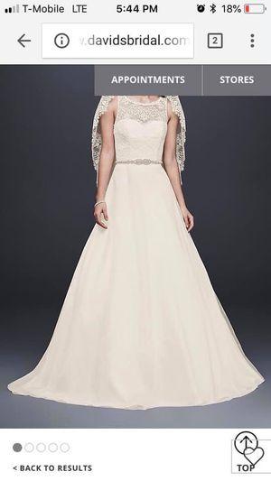 Never Worn Size 14 Wedding Gown for Sale in Herriman, UT