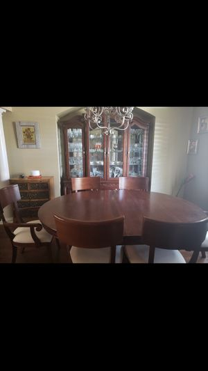 Formal Dining Room Table/Chairs/China Cabinet for Sale in Gulf Breeze, FL
