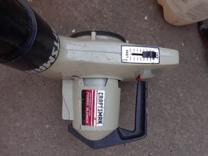 Craftsman 1hp variable speed power blower for Sale in Portland, OR
