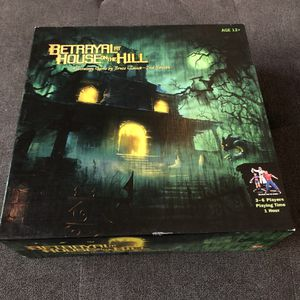 Betrayal At House On The Hill Board Game for Sale in Scottsdale, AZ
