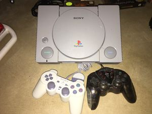 Sony playstation with 11 games and 2 controllers for Sale in Colorado Springs, CO