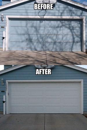 New garage doors for Sale in Aurora, CO