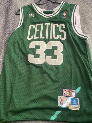 Larry Bird Celtics Jersey Adidas Large for Sale in Bellevue, WA