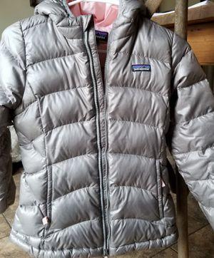 Patagonia down puffer jacket girls medium kids for Sale in Ripon, CA