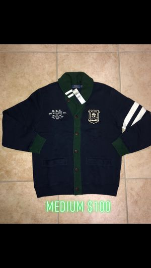 Mens Polo Ralph Lauren Cardigan Size Medium Brand New for Sale in Queens, NY
