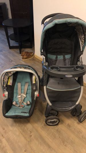 Graco baby stroller and car seat for Sale in Seattle, WA