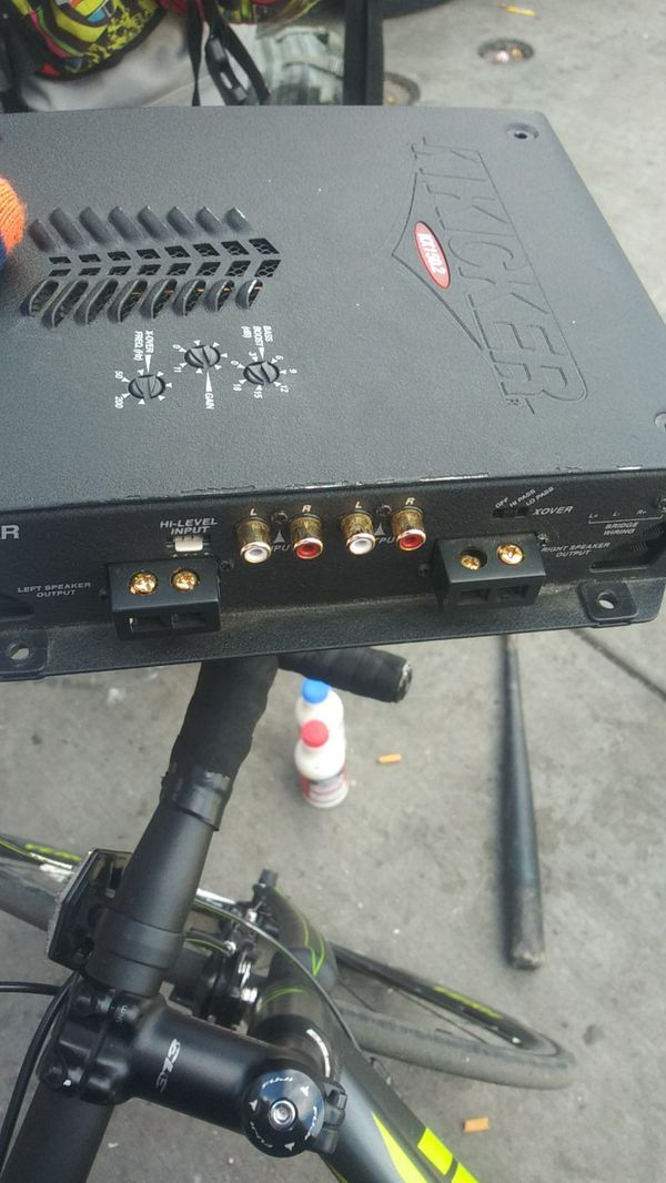 Kikcker amp