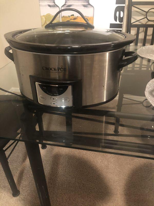 Crock-pot 7 Quart Programmable Slow Cooker with Digital Countdown