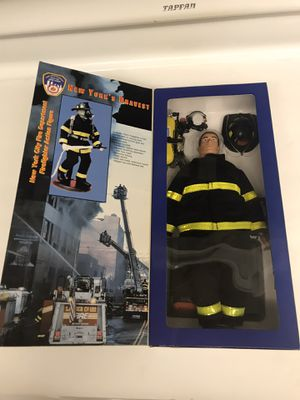 FDNY collectible action figure - in box for Sale in Rancho Cucamonga, CA