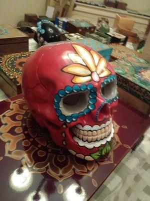 Handpainted sugar skull for Sale in Palm Harbor, FL