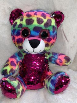 Rainbow Leopard Bear With Flippies for Sale in Cranston,  RI