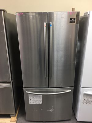 Samsung stainless steel french door refrigerator for Sale in Columbus, OH