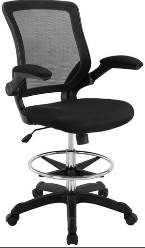 Standing office chair with adjustable height, arm rest and leg rest for Sale in Foster City, CA