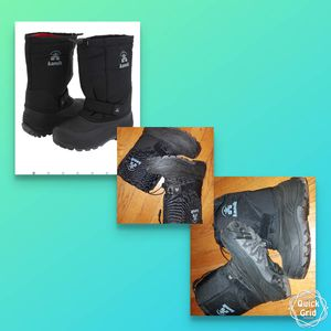 Kamika kids rocket snow boots size 2 for Sale in North Arlington, NJ