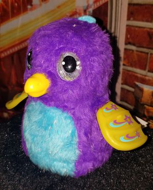 Kids Hatchimals Draggle Purple Dragon Interactive Plush Toy Spin Master Works for Sale in Tampa, FL