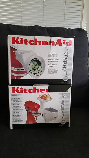 2 atatchments kitchenAid rarely used for Sale in Seattle, WA
