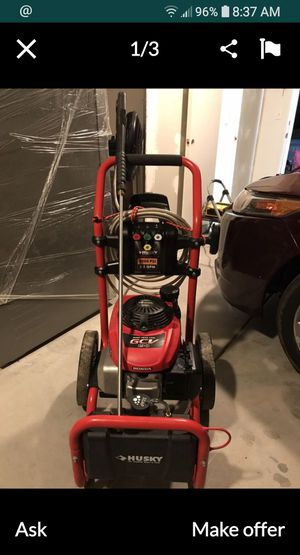 HUSKY PRSSURE WASHER WITH HONDA MOTOR for Sale in Victorville, CA