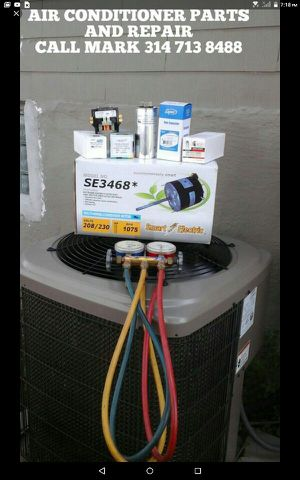 HVAC AIR CONDITIONER SERVICE & REPAIR PARTS for Sale in St. Louis, MO