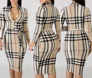Burberry Print Midi Dress for Sale in Las Vegas, NV
