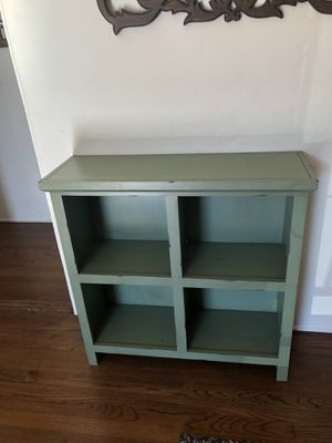Custom Teal Wooden Storage Cubbies/Shelves for Sale in San Diego, CA