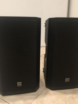 "PA System - Yamaha ProFX12 w/ EV 12"" Speakers for Sale in Palm Beach,  FL"