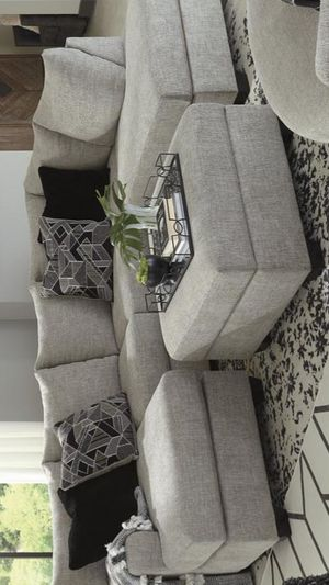 ☘is a furniture store☘Megginson Storm RAF Sectional for Sale in Jessup, MD