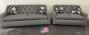 $899 brand new couches two piece set for Sale in Beverly Hills, CA