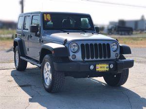 2014 Jeep Wrangler Unlimited for Sale in Arlington, WA