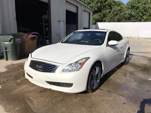 Infiniti G37 Coupe For Parts! Full Part Out! 2009 Engine 77k Miles for Sale in Douglasville, GA