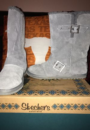 Women's gray boots for Sale in Austin, TX