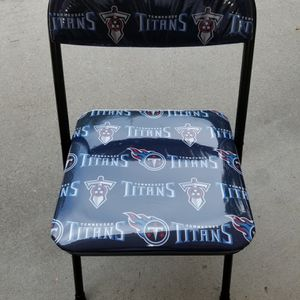 Tennessee Titans folding chair for Sale in Snellville, GA