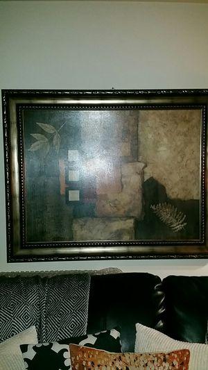 Large Abstract Framed Art Print for Sale in Belleville, MI
