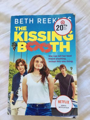Kissing booth book for Sale in Murrieta, CA