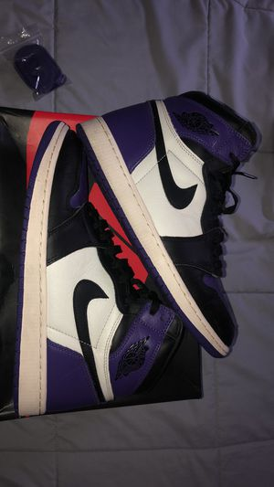 Jordan 1 court purples for Sale in Lodi, CA