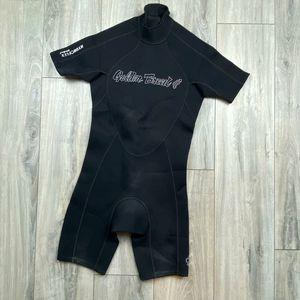 2.2mm Golden Breed hydro flex spring suit* men's small Great shape for Sale in Spokane, WA