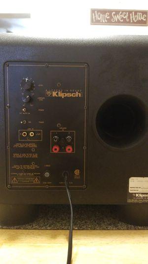 KLIPSCH- KSW 10 for Sale in Beaumont, CA