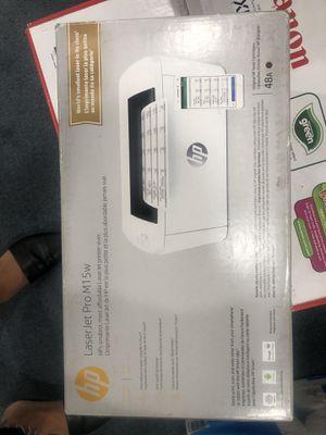 HP laser jet Pro m15w printer for Sale in Glendale, CA