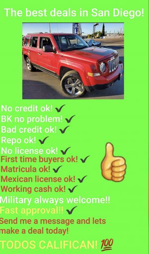 2017 JEEP PATRIOT GREAT DEAL! LOW MILES! for Sale in San Diego , CA