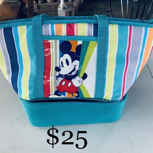 Disney Insulated Zip Cooler Tote for Sale in San Jose, CA