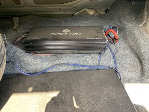 2 L7 15s in ground shaker pro box with 3000 watt nemesis audio amp major sound system for Sale in Tyler, TX